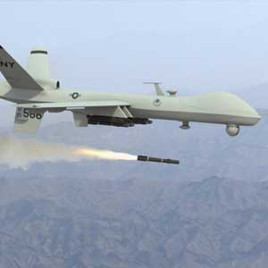 US drone operating in Africa