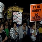 Ferguson protest - it is right to rebel